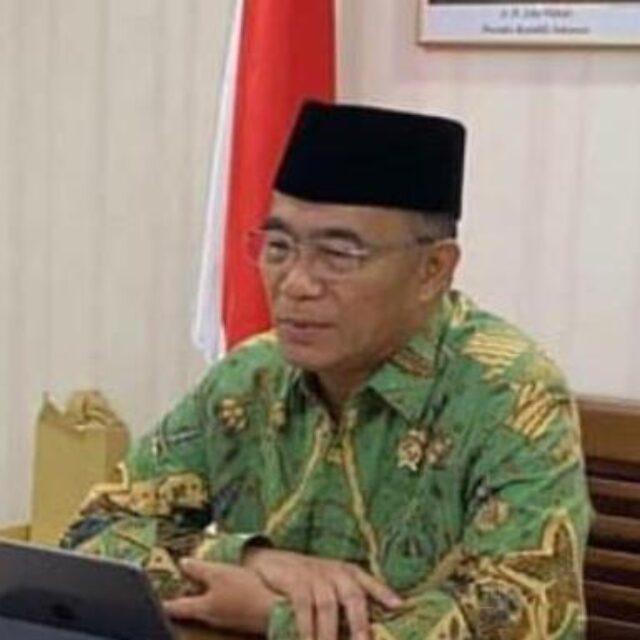 Plt Menteri Sosial Muhadjir Effendy