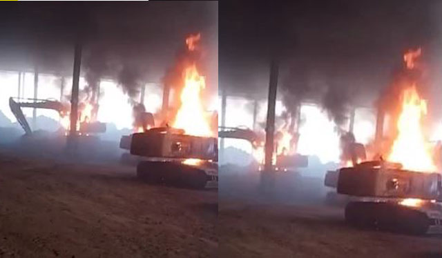 Ketgam : Armada PT VDNI di bakar massa