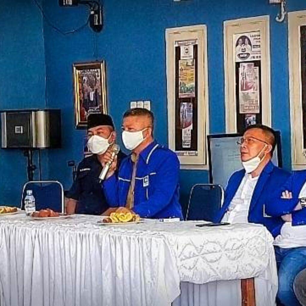 Ketgam : Suasana Musda ke V PAN Konawe yang di pimpin Ketua DPD PAN Konawe Gusli Topan Sabara