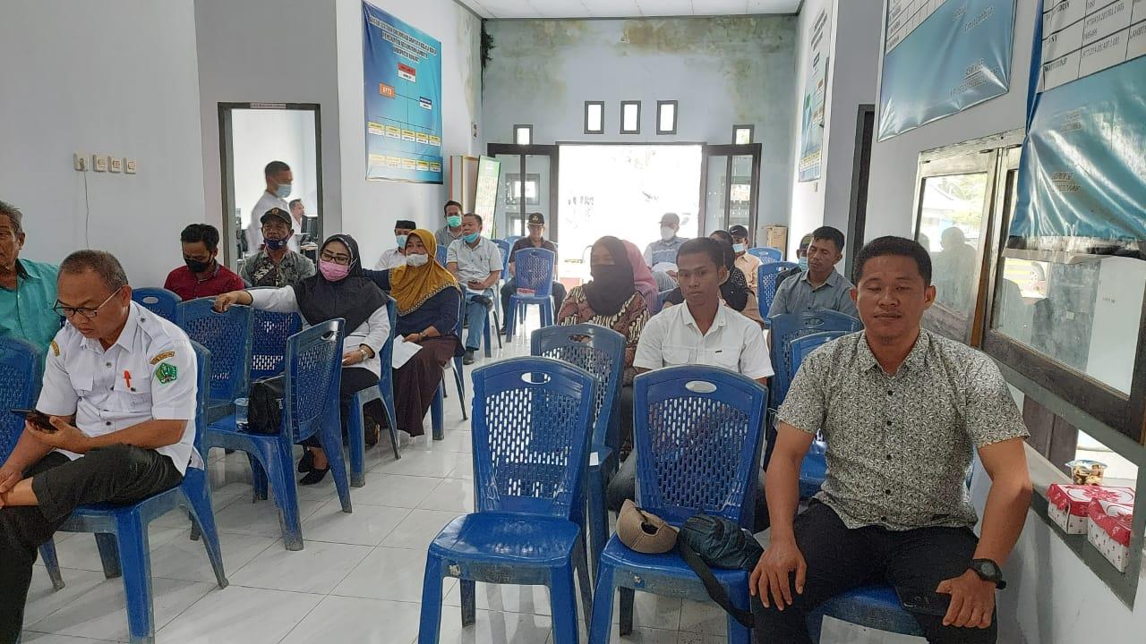 Ketgam : peserta pelatihan dari BPD dan Para kepala desa