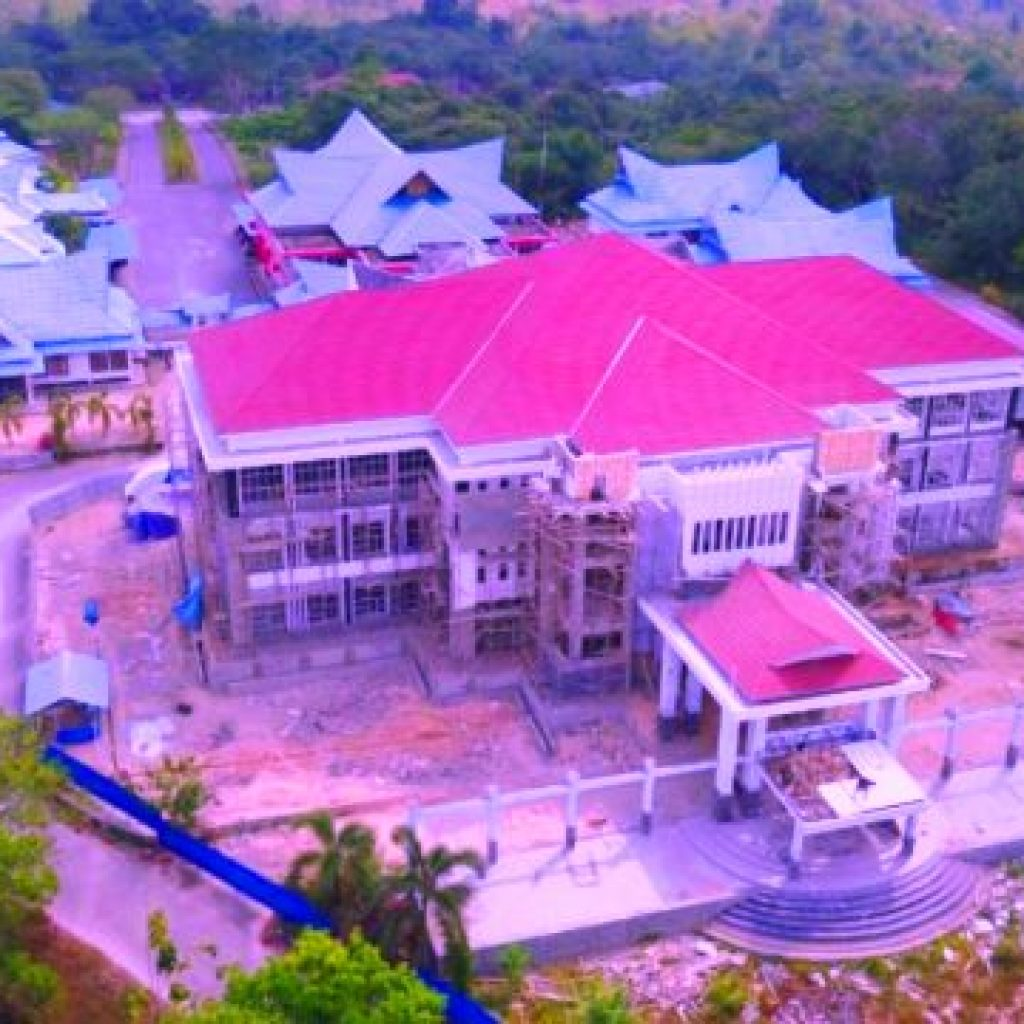 Kantor Bupati Konawe Selatan/foto : Istimewa